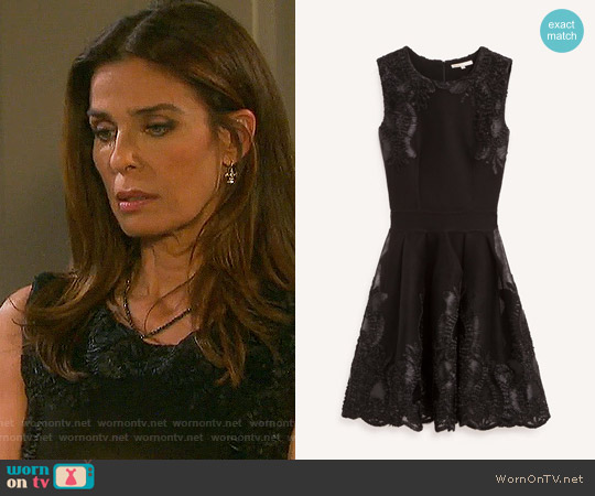 Maje Reason Dress worn by Kristian Alfonso on Days of our Lives