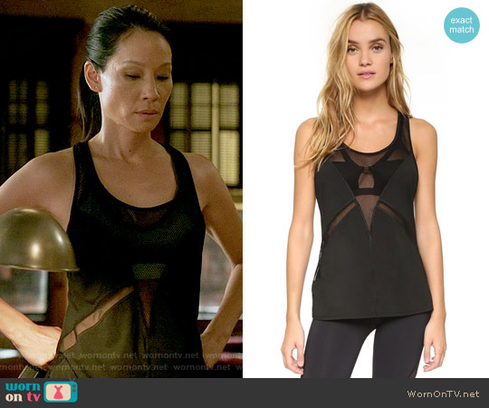 Michi Venom Tank worn by Lucy Liu on Elementary
