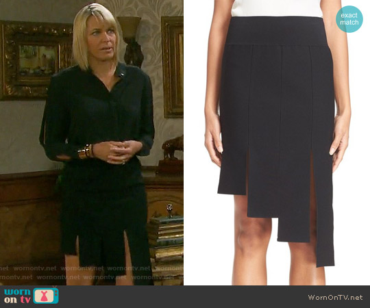 Opening Ceremony Asymmetric Panel Skirt worn by Arianne Zucker on Days of our Lives