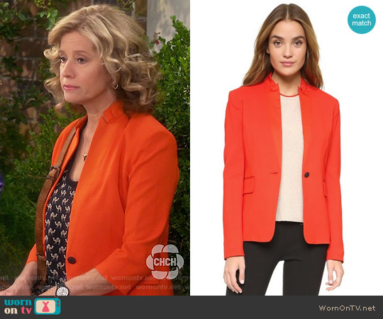 Rag & Bone Archer Blazer worn by Vanessa Baxter on Last Man Standing