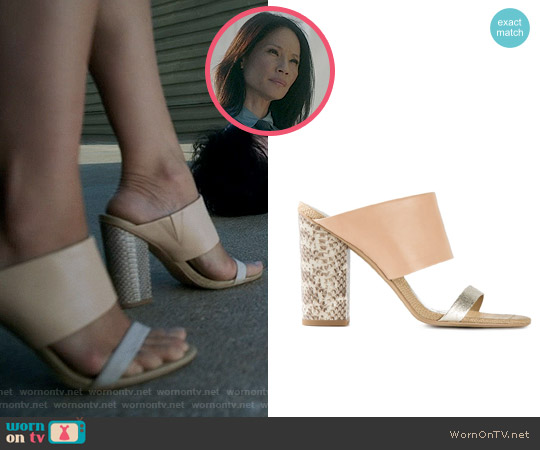 Sam Edelman Yoselin Sandal worn by Lucy Liu on Elementary