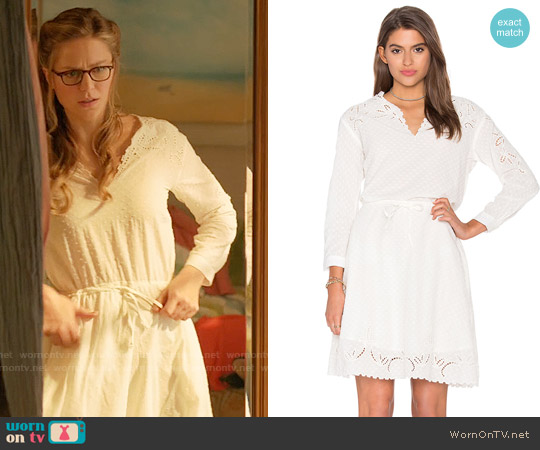 The Kooples Eyelet Dress worn by Melissa Benoist on Supergirl