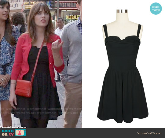 Trashy Diva Trixie Romper worn by Zooey Deschanel on New Girl