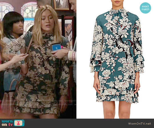 Valentino Enchanted Tree Print Dress worn by Kelsey Peters (Hilary Duff) on Younger