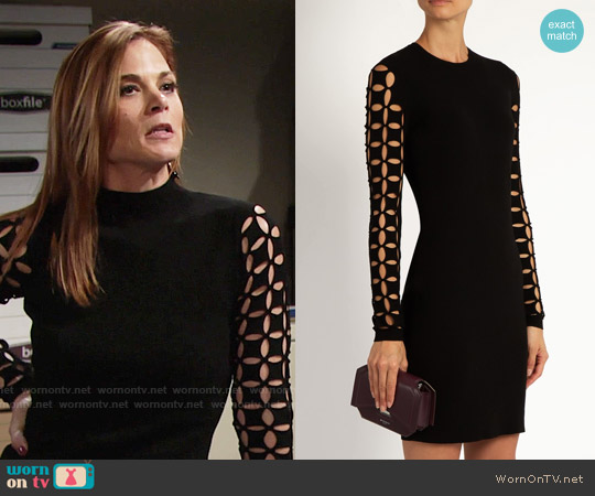 Versus Cutout Sleeves Dress worn by Gina Tognoni on The Young & the Restless