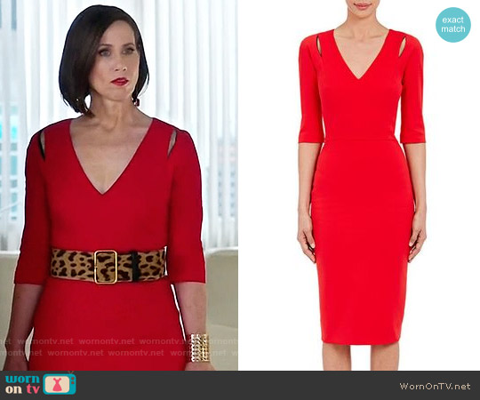Victoria Beckham Cutout Sheath Dress worn by Miriam Shor on Younger