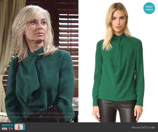 Elizabeth and James Darby Blouse worn by Eileen Davidson on The Young & the Restless