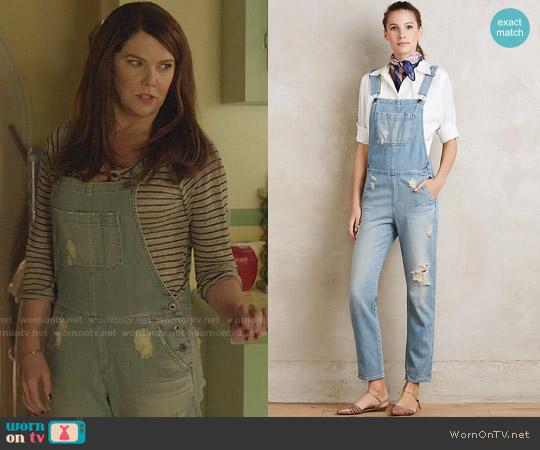 Anthropologie AG Finn Overalls worn by Lauren Graham on Gilmore Girls