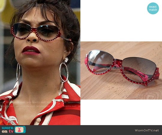 Alain Mikli Rhinestone Sunglasses worn by Cookie Lyon on Empire