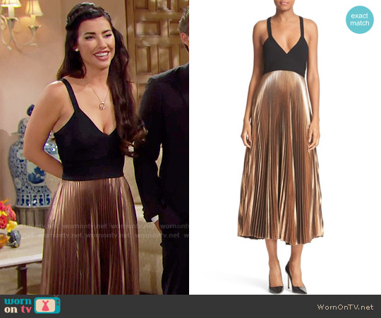 ALC Alba Dress worn by Jacqueline MacInnes Wood on The Bold & the Beautiful