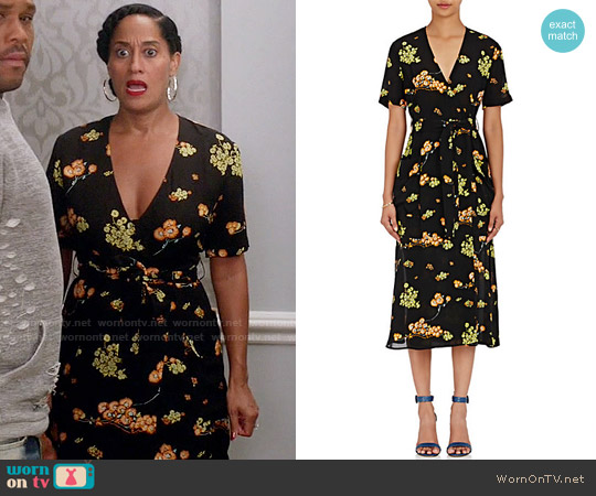 ALC Stephanie Dress worn by Tracee Ellis Ross on Blackish