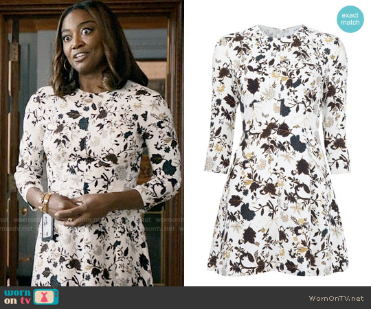 ALC Terry Dress worn by Patina Miller on Madam Secretary