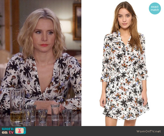 ALC Way Dress worn by Kristen Bell on The Good Place