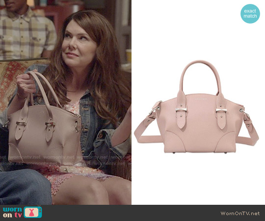 Alexander McQueen Small Legend Bag worn by Lauren Graham on Gilmore Girls