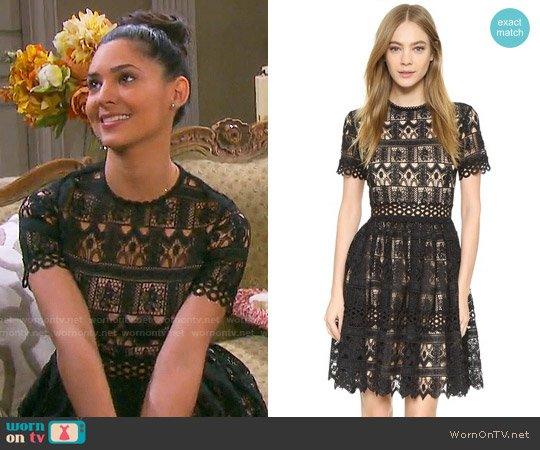 Alexis Lula Dress worn by Gabi Hernandez (Camila Banus) on Days of our Lives