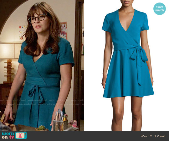 Alice + Olivia Adrianna Dress worn by Jessica Day (Zooey Deschanel) on New Girl