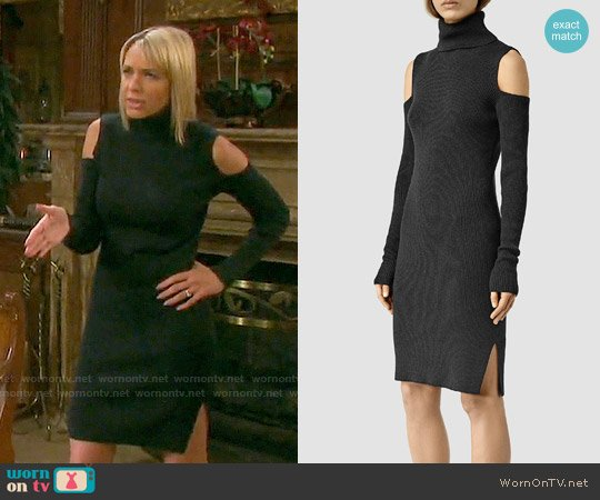 All Saints Bernt Dress worn by Nicole Walker (Arianne Zucker) on Days of our Lives