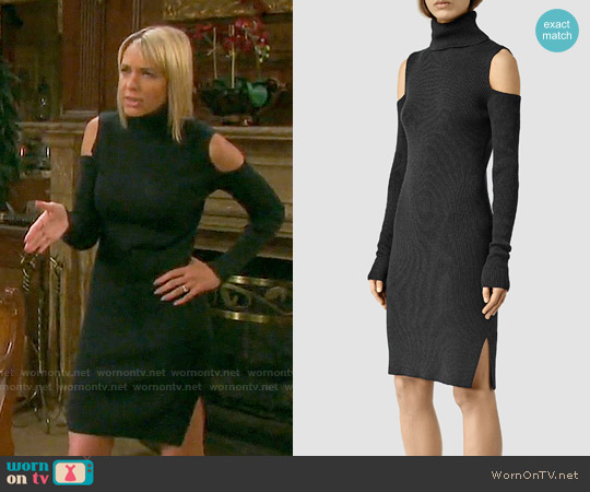 All Saints Bernt Dress worn by Arianne Zucker on Days of our Lives