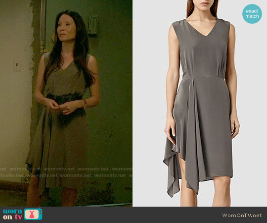 All Saints Vista Dress worn by Lucy Liu on Elementary