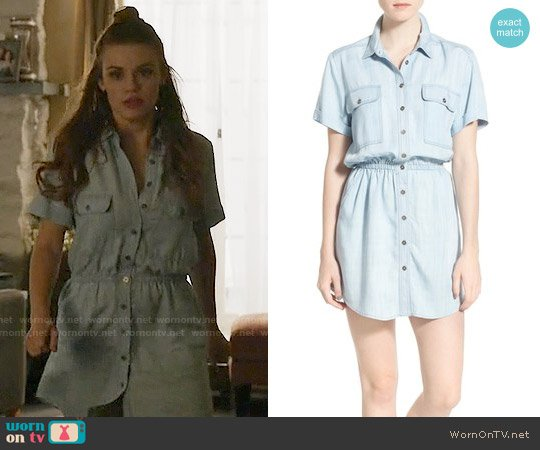 BP Chambray Shirtdress worn by Holland Roden on Teen Wolf