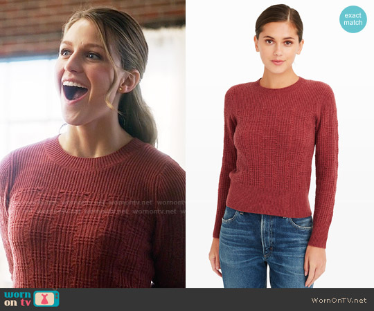 Club Monaco Zandra Sweater worn by Melissa Benoist on Supergirl