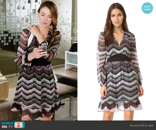 Diane von Furstenberg Lizbeth Dress worn by Sutton Foster on Younger