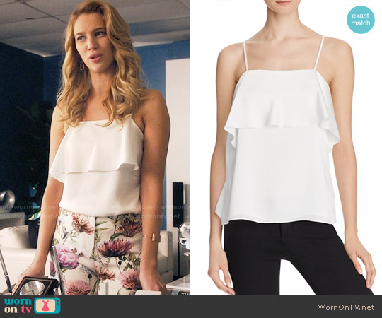 Elizabeth & James Abby Top worn by Yael Grobglas on Jane the Virgin