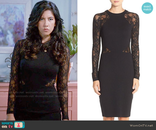 French Connection Viven Lace Dress worn by Stephanie Beatriz on Brooklyn Nine-Nine