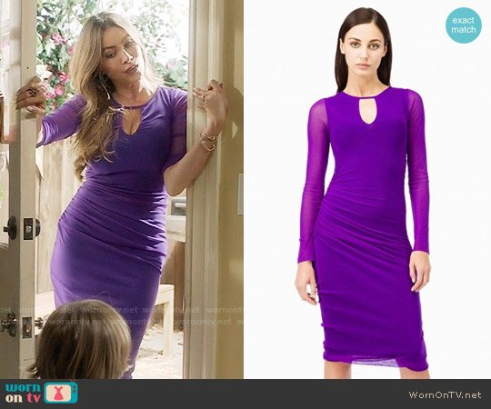 Fuzzi Tight Dress worn by Sofia Vergara on Modern Family