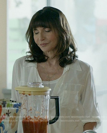 Gail's white shirt on Last Man on Earth
