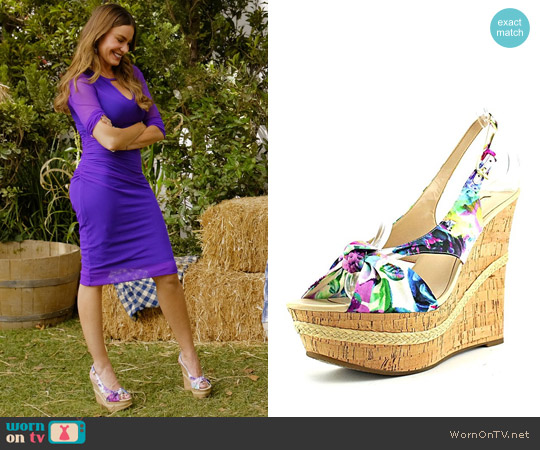 Guess Delilan Wedges worn by  Gloria Pritchett on Modern Family