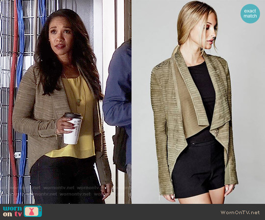 Guess Llana Jacket worn by Candice Patton on The Flash