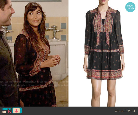 Joie Alpina Dress worn by Hannah Simone on New Girl