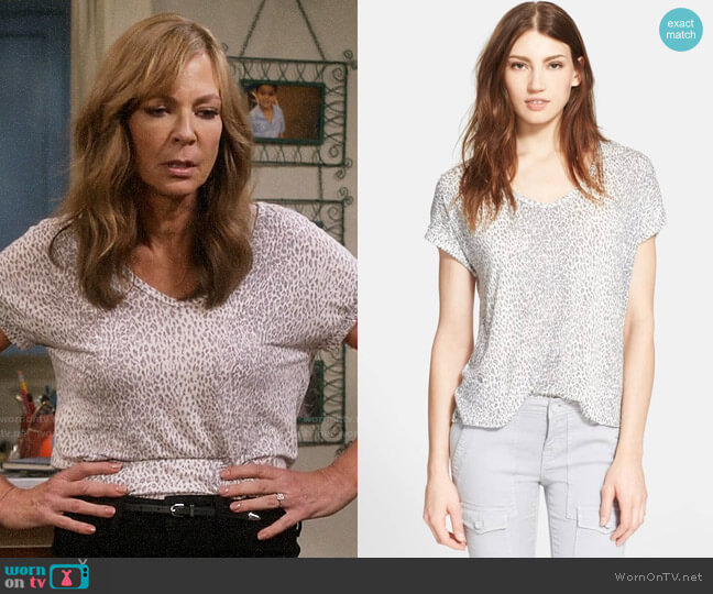 Joie Omnira Top worn by Allison Janney on Mom