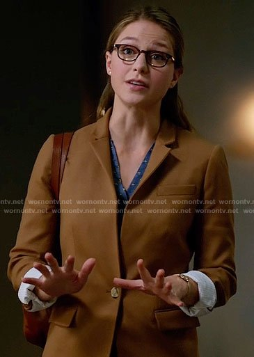 Kara's tan blazer on Supergirl