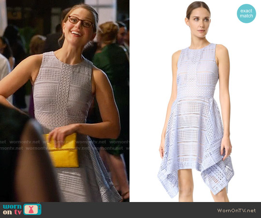 Keepsake Sweet Nothing Dress in Pastel Blue worn by Melissa Benoist on Supergirl