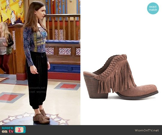 Matisse Tate Clogs worn by Riley Matthews on Girl Meets World