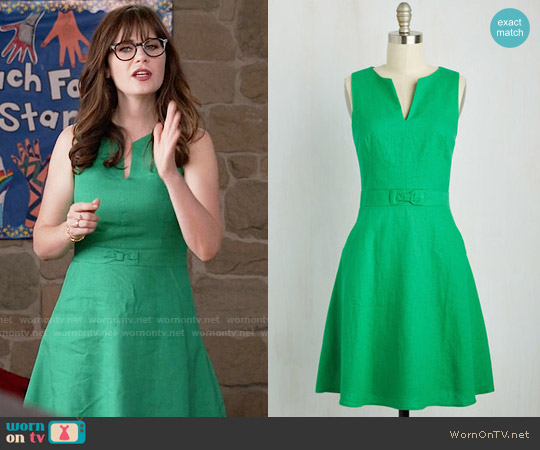 ModCloth Passionate Professional Dress worn by Jessica Day (Zooey Deschanel) on New Girl