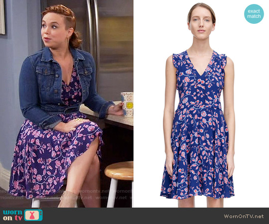 Rebecca Taylor Kyoto Dress worn by Amanda Fuller on Last Man Standing