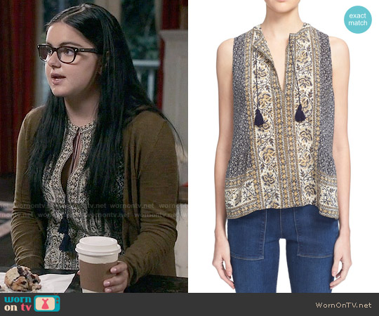 Sea Sabine Top worn by Alex Dunphy (Ariel Winter) on Modern Family