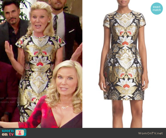 Ted Baker Imoen Dress worn by Alley Mills on The Bold & the Beautiful