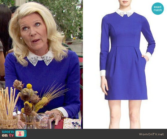 Ted Baker Moona Dress worn by Alley Mills on The Bold & the Beautiful
