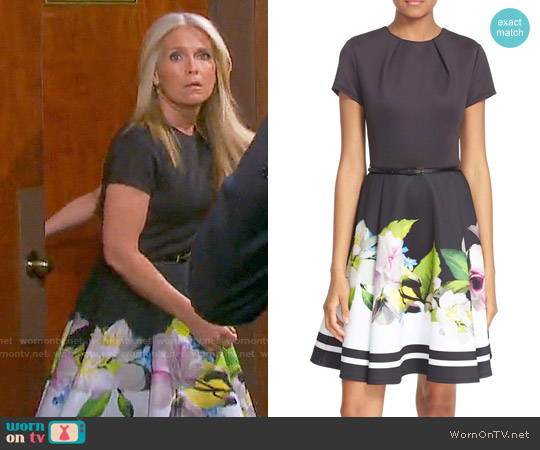 Ted Baker Vidaa Dress worn by Melissa Reeves on Days of our Lives