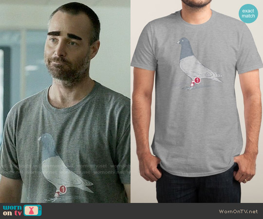 Threadless You've Got New Mail T-shirt worn by Will Forte on Last Man On Earth