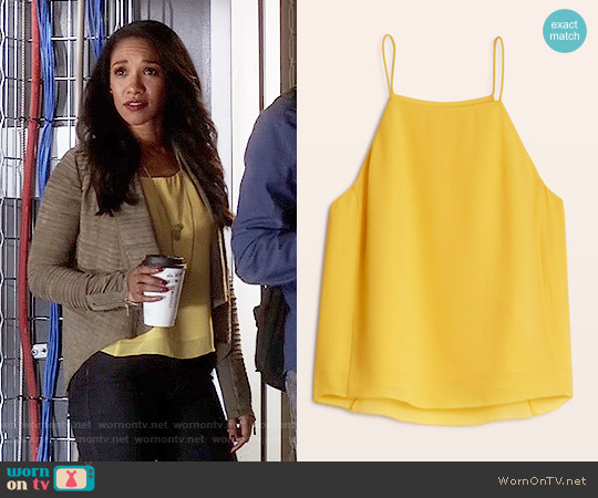 Wilfred Rians Blouse worn by Iris West on The Flash