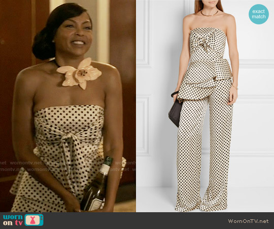 Johanna Ortiz Truman Top and Capote Trousers worn by Taraji P. Henson on Empire