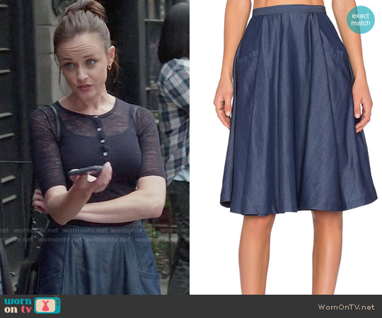 Vivian Chan Mia Skirt worn by Rory Gilmore on Gilmore Girls