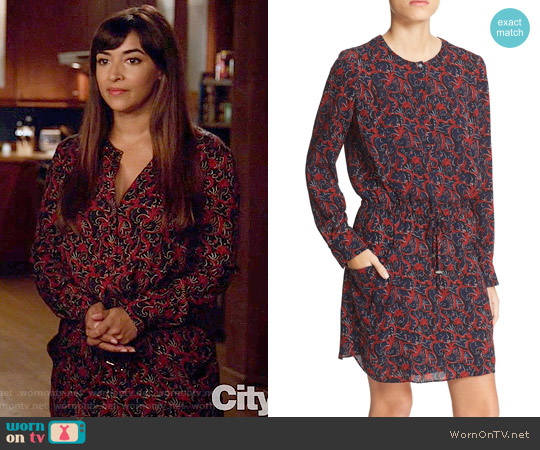 ALC Sullivan Dress worn by Cece Parekh (Hannah Simone) on New Girl