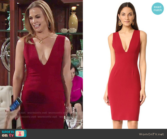 Alice + Olivia Esmira Dress worn by Gina Tognoni on The Young & the Restless