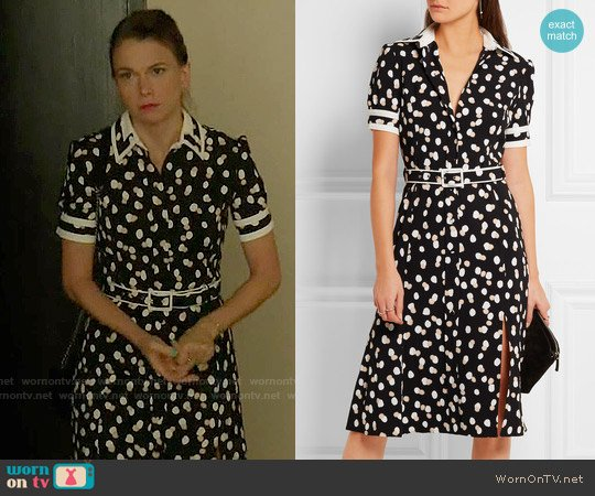 Altuzarra Ella Dress worn by Sutton Foster on Younger